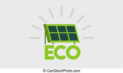 ecology energy renewable - eco solar panel energy renewable...
