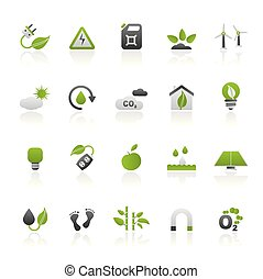 Ecology, Environment and nature icons 3
