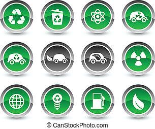 Ecology icon set.