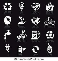 Ecology icons set1.