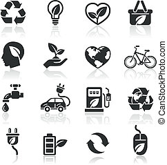Ecology icons set1.