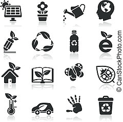 Ecology icons set2.