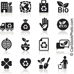Ecology icons set4.