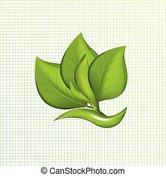 Ecology leafs logo