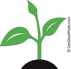 Ecology logo - green design