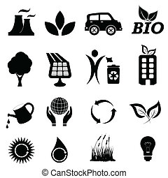 Ecology related symbols