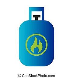 ecology tank gas icon