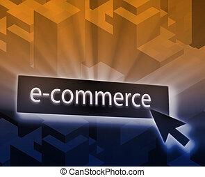 Ecommerce button