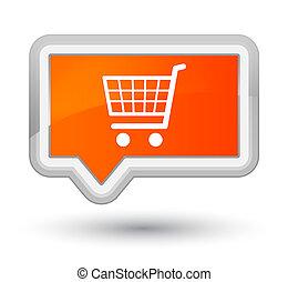 Ecommerce icon prime orange banner button