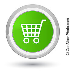 Ecommerce icon prime soft green round button
