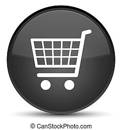 Ecommerce icon special black round button