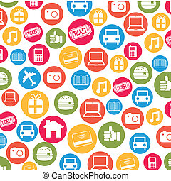 ecommerce design over white background vector illustration