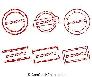 económico, sellos