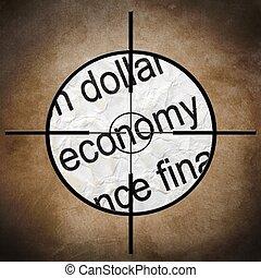 economia, bersaglio