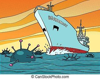 Economic crisis due to the covid19 coronavirus pandemic