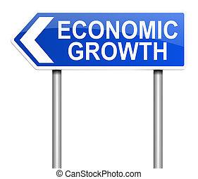 Economic growth concept.