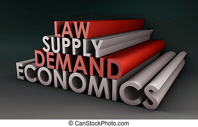 Economics Law of Supply and Demand Background
