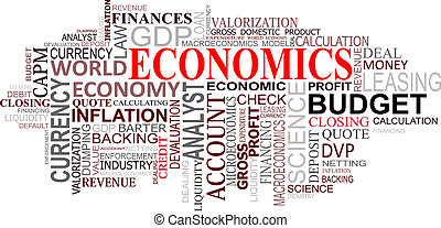 Economics tags cloud - Economics and finance tags cloud for...