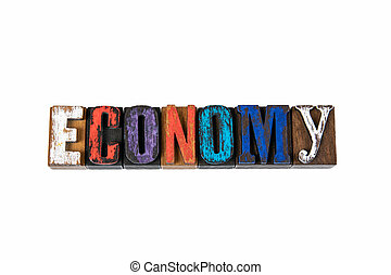 Economy. Development, Planning, Growth or Recession Concept