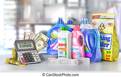 Economy on a detergents