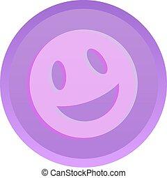 Ecstasy tablet vector icon