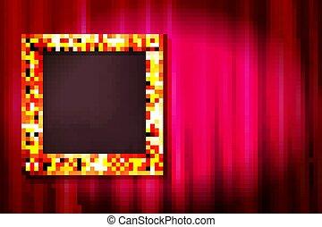 ector golden baroque frame