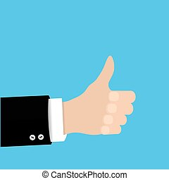 ector thumbs up icon