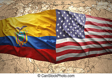 ecuador, és, amerikai egyesült államok