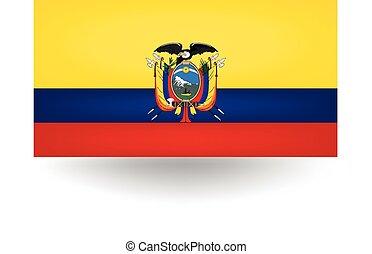 Ecuador Flag - Official flag of Ecuador.