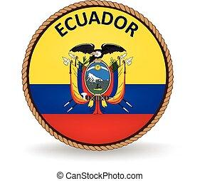 Ecuador Seal - Flag seal of Ecuador.