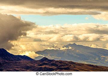 Ecuadorian Andes At High Altitude