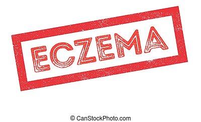 Eczema rubber stamp