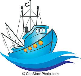 edény, tervezés, halászat