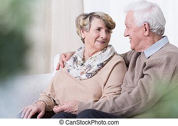 edad, viejo, relación