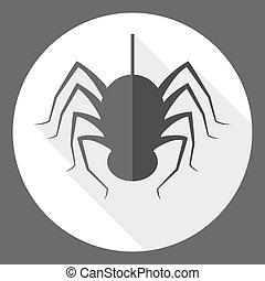 tegn en edderkop