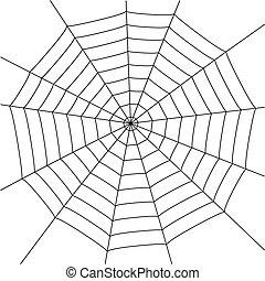 edderkop væv