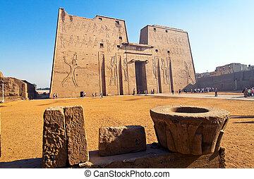 edfu, egypte, horus, tempel