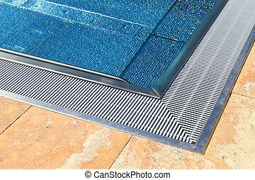 Edge of Modern Swimming Pool