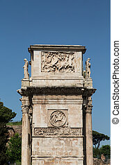 Edge of Roman Arch