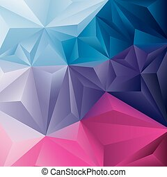 Edgy abstract vector background - Edgy abstract background. ...
