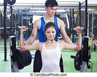 edifício corpo, exercício