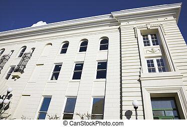 edifício histórico, em, pensacola