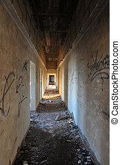 edifícios, abandonado