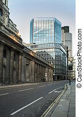edifícios, em, cidade londres
