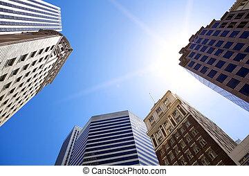 edifícios, escritório