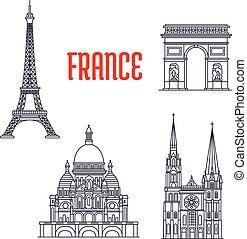 edifícios,  sightseeings, histórico, França