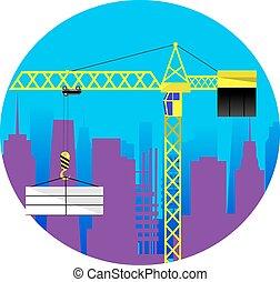 edificio, albergue construcción