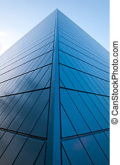 edificio, alto