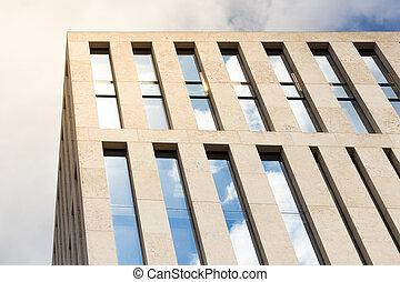 edificio apartamento, exterior, -, casa, fachada