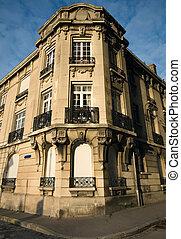 edificio apartamento, reims, francia